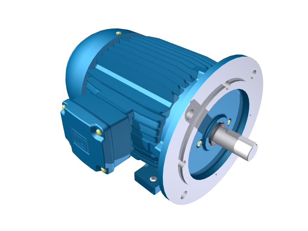 Weg Flange Mounted Motor Plc Automation Parts
